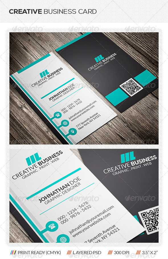 GraphicRiver Creative Corporate Business Card 6055696