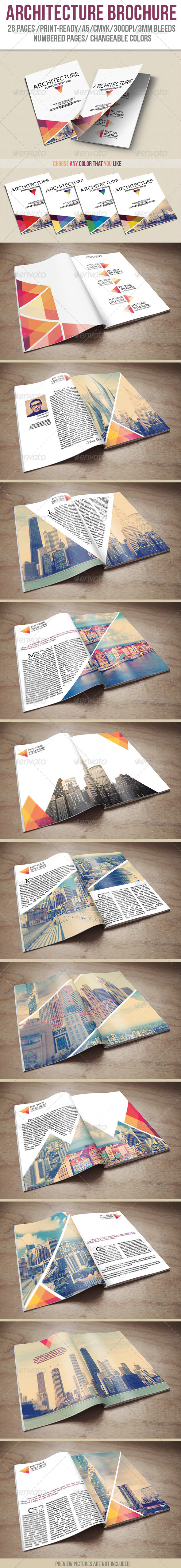 GraphicRiver Architecture Portfolio Brochure 6056165