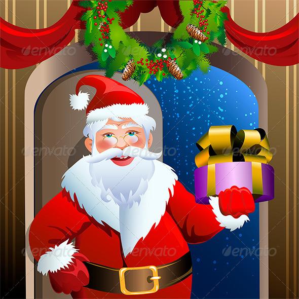 GraphicRiver Santa Delivery Service 6056428