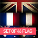Set of 46 Flag vintage & Elegant - GraphicRiver Item for Sale