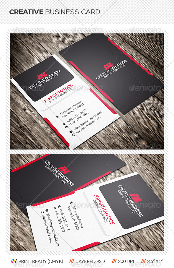 GraphicRiver Creative Business Card 6056622