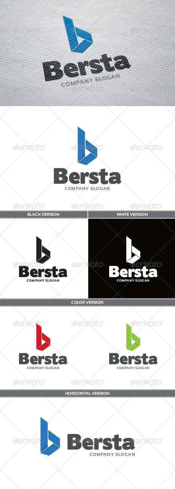 GraphicRiver Bersta Logo 6056667