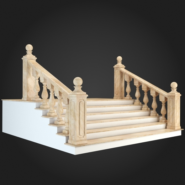 3DOcean Staircase 001 6056815