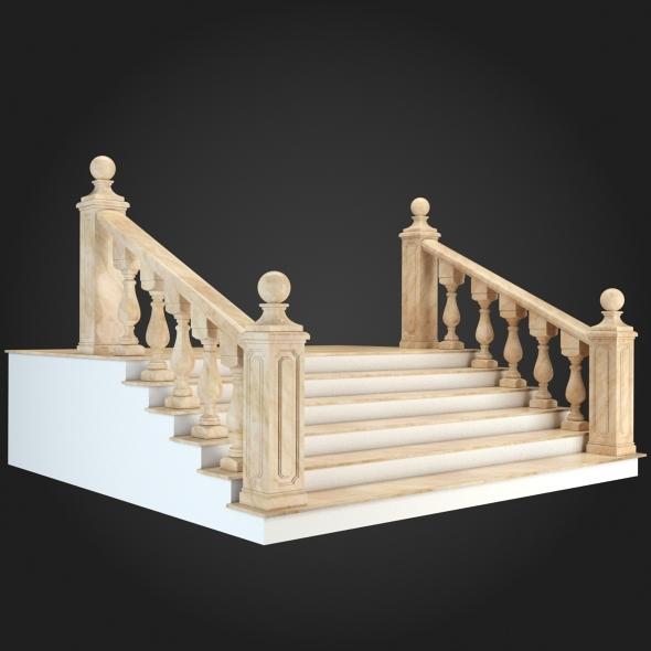 3DOcean Staircase 001 6056815