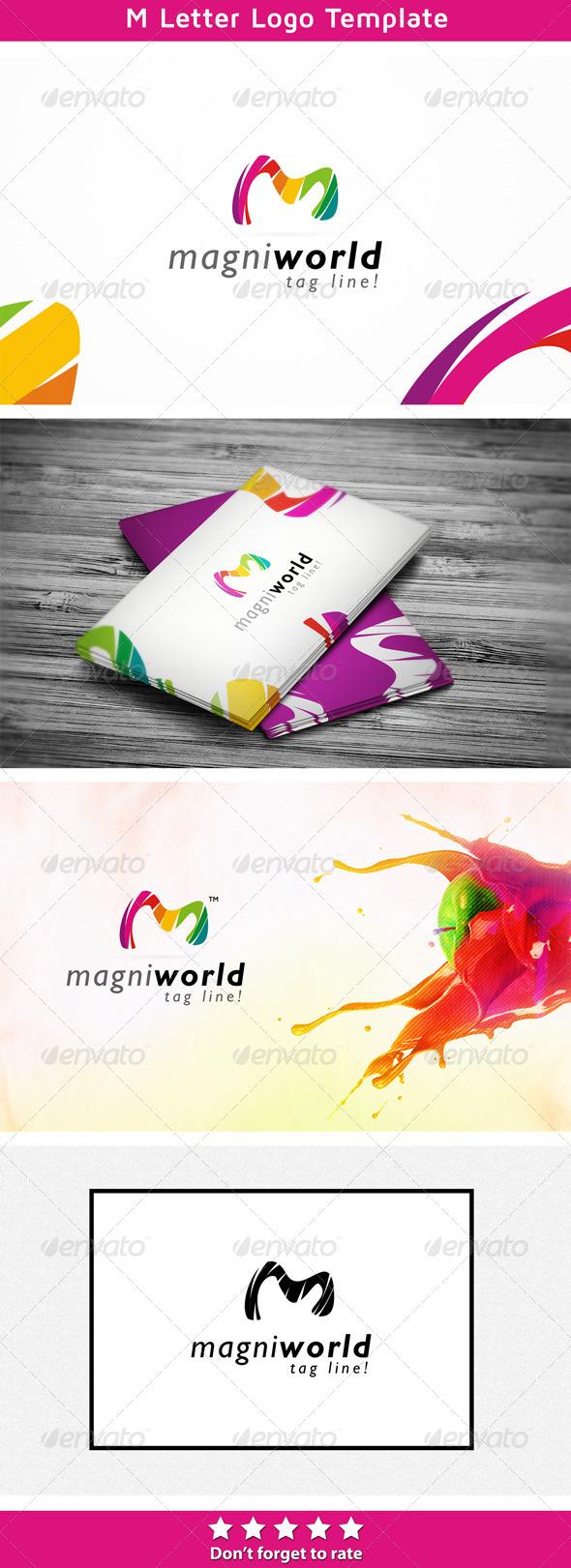 Magni Studio - Letters Logo Templates