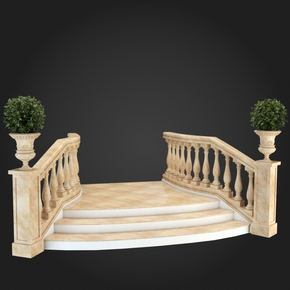 3DOcean Staircase 003 6056991
