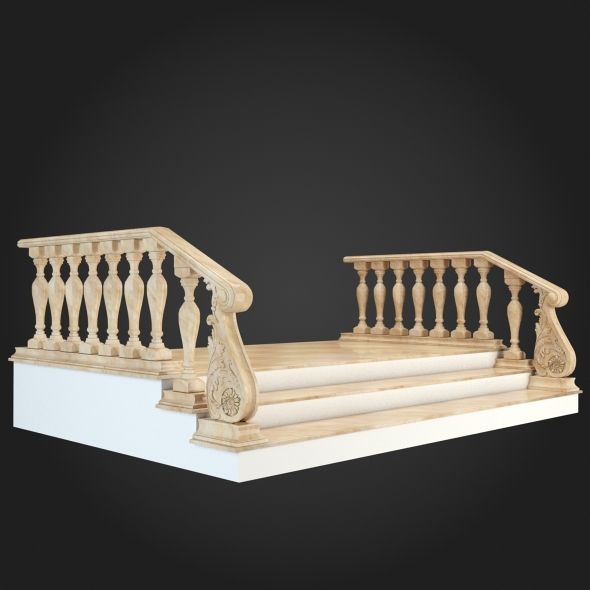 3DOcean Staircase 005 6057026
