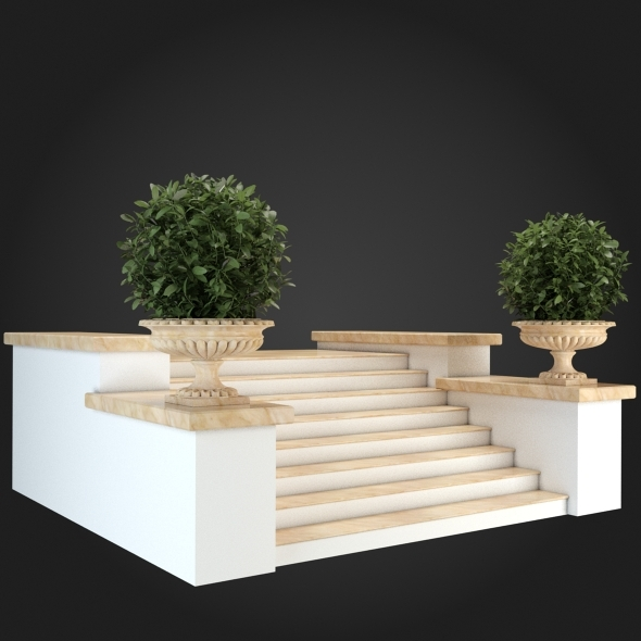 3DOcean Staircase 006 6057052