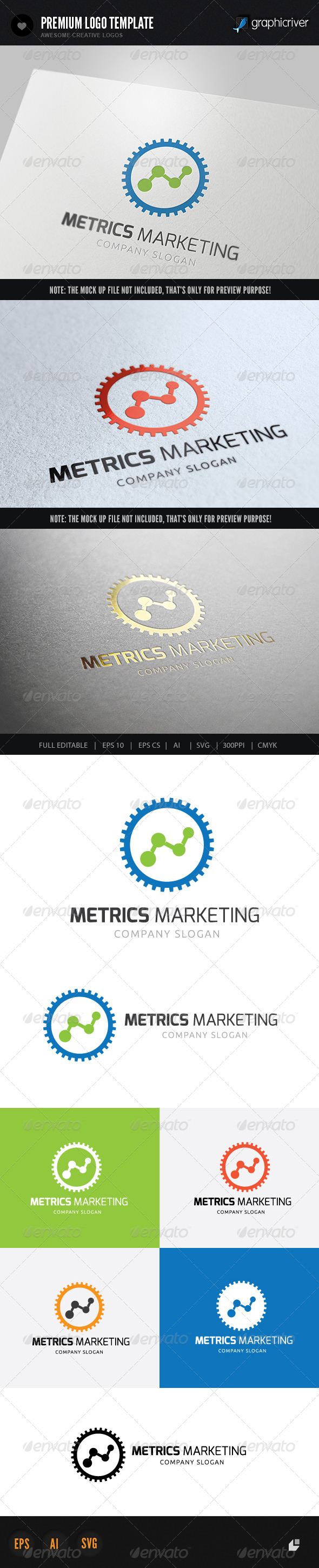 GraphicRiver Metrics Marketing 6057151