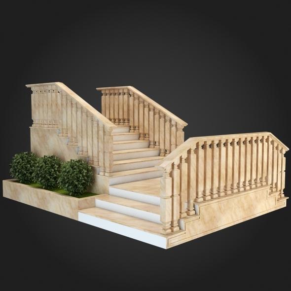 3DOcean Staircase 010 6057225