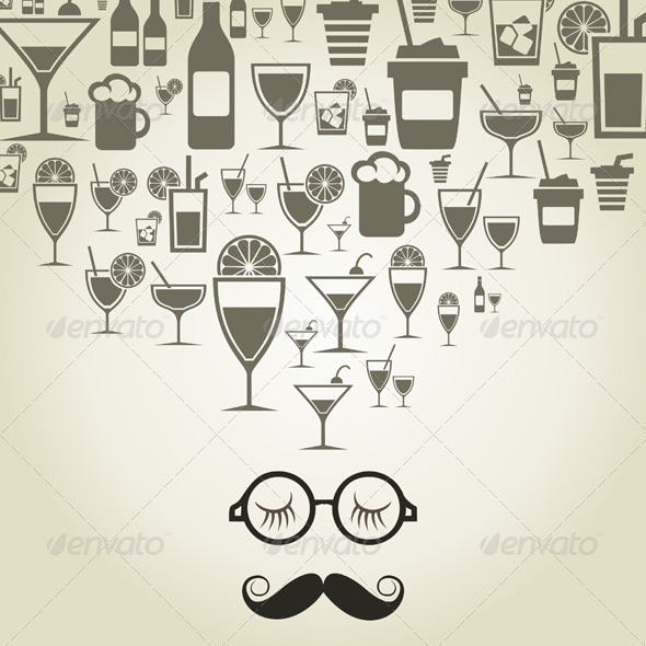 GraphicRiver Alcohol 6057466