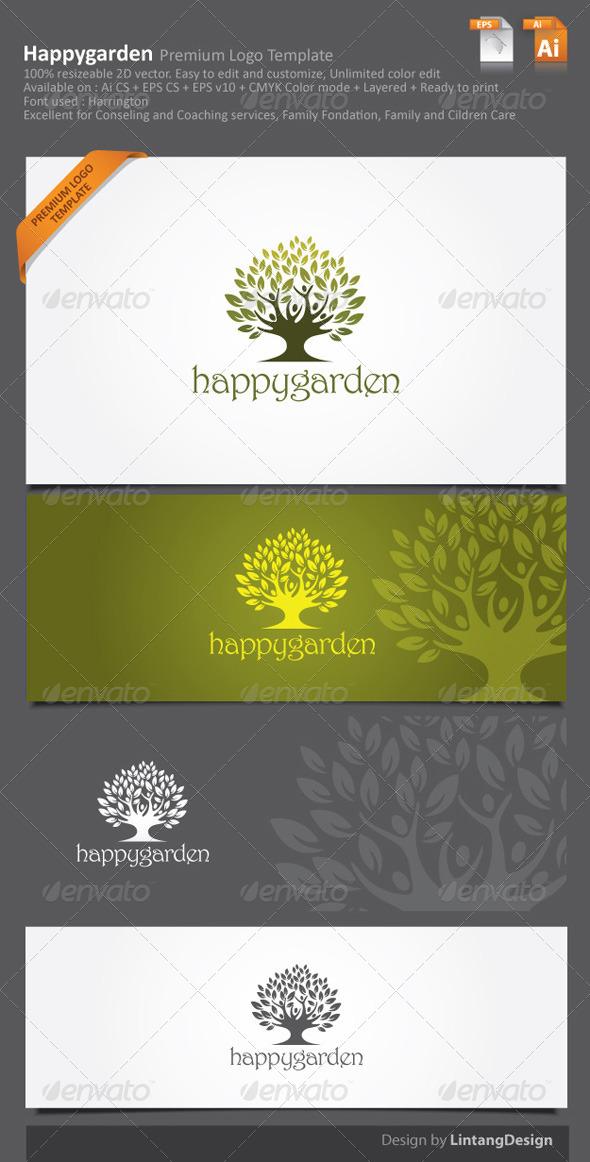 GraphicRiver Tree Logo 003 6057497