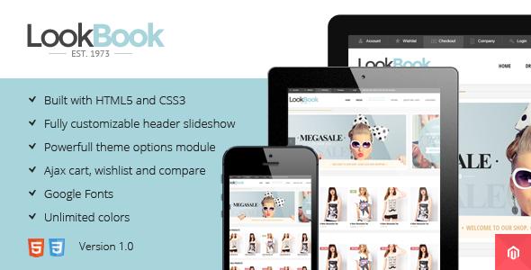 Lookbook - Responsive & Retina Magento Theme - Magento eCommerce