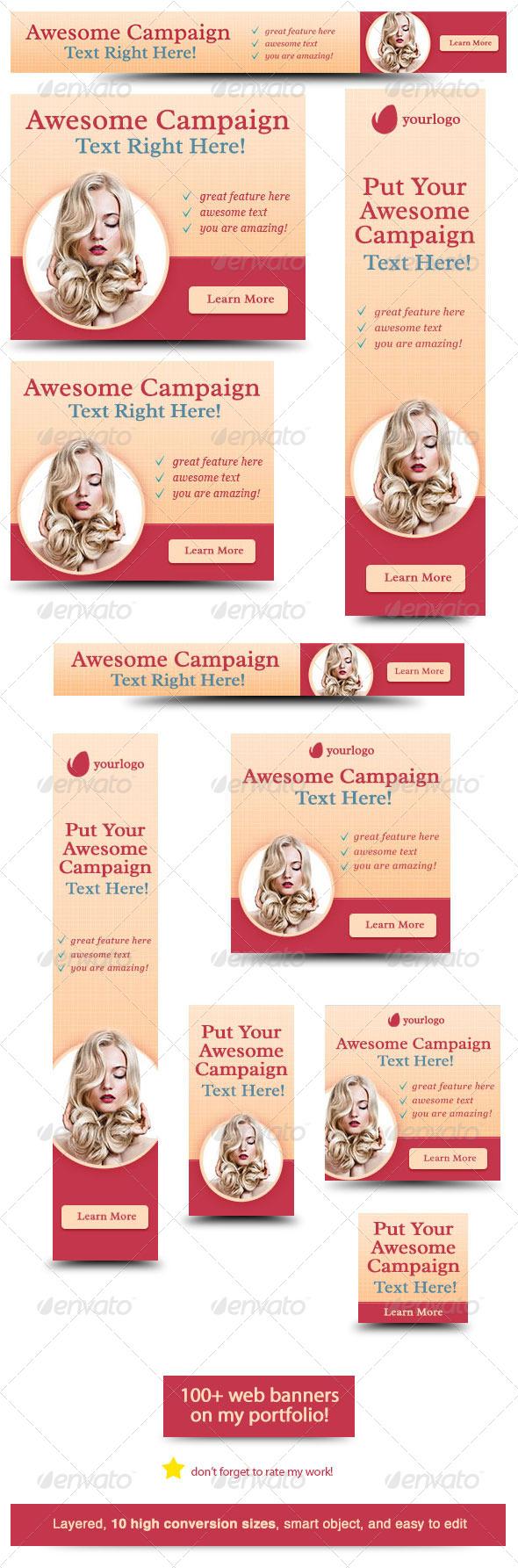 GraphicRiver Amazing Web Banner Design 6057740