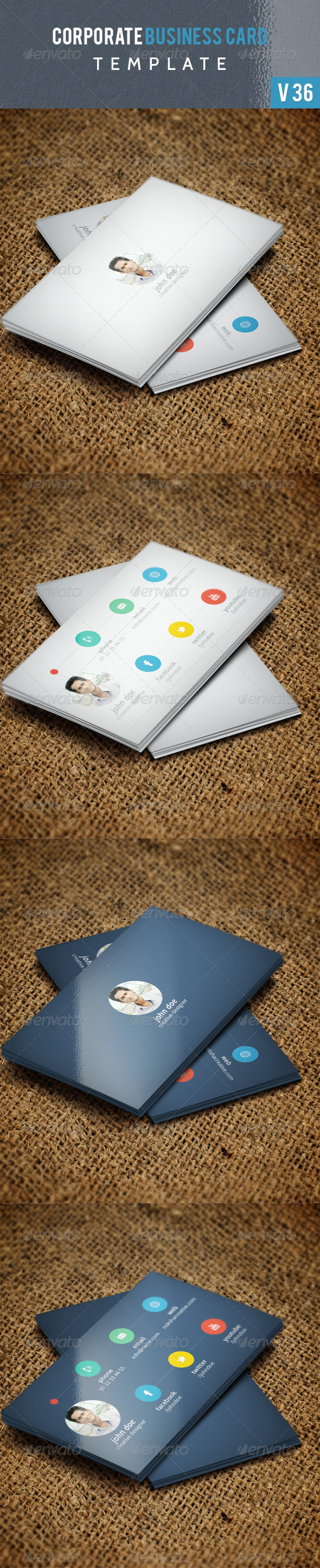 GraphicRiver Corporate Business Card V 36 6053102