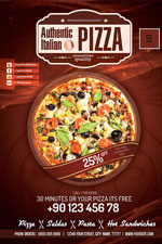 Pizza Restaurant PSD