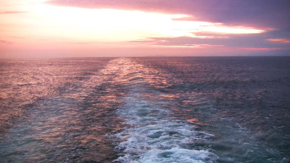 Sunset Astern
