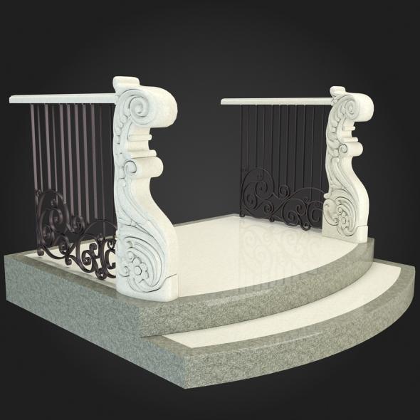 3DOcean Staircase 022 6058084