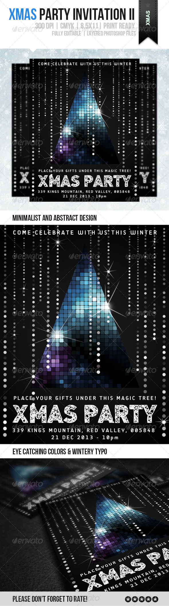 GraphicRiver xMas Party Invitation III 6058287