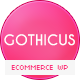 Gothicus - A One Page WooCommerce Wordpress Theme