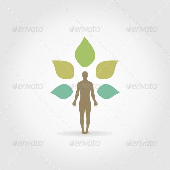 GraphicRiver Person as a Plant 6058540