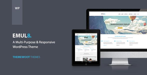 ThemeForest Emulate Multi-purpose Responsive WordPress Theme 6058805