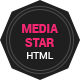 Mediastar- Responsive Html5 Portfolio Template - ThemeForest Item for Sale