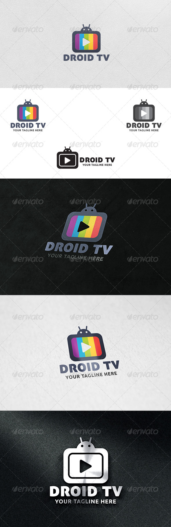 GraphicRiver Droid TV Logo Template 6059159