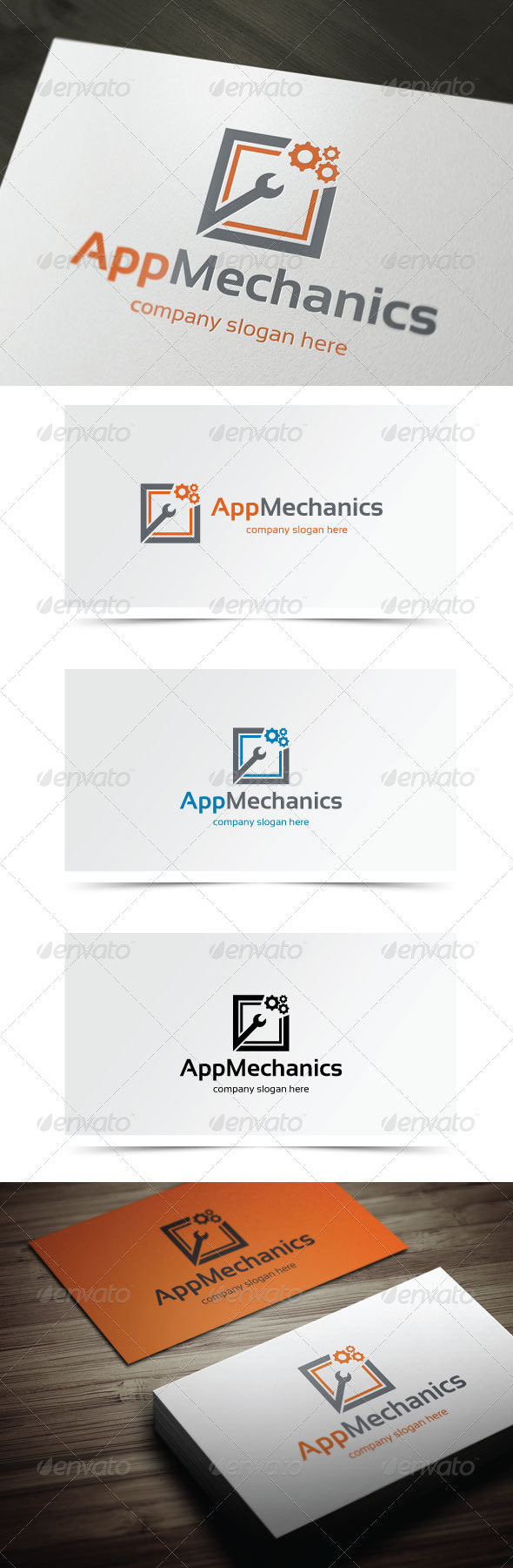 App Mechanics - Symbols Logo Templates