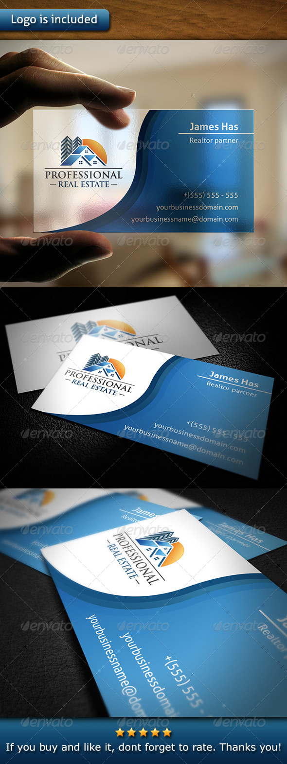 GraphicRiver Realty Business Card 6059285