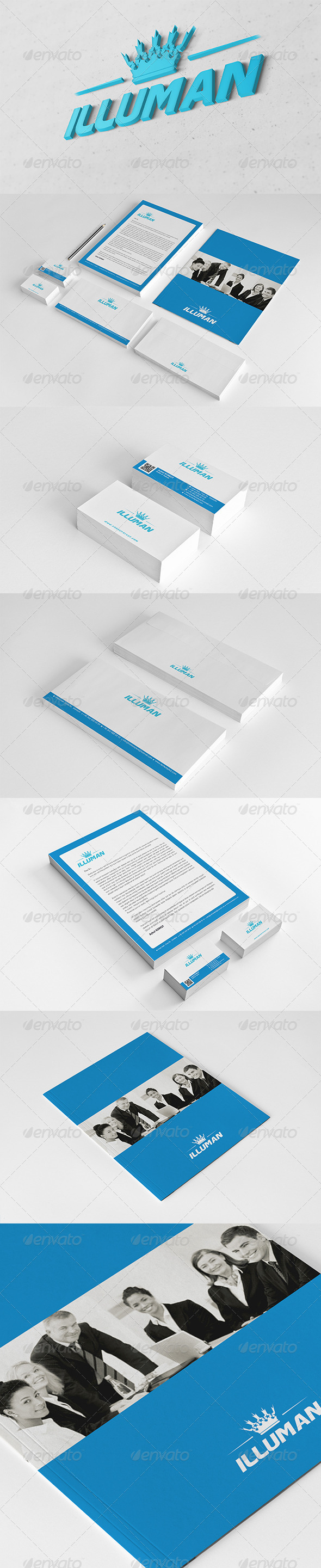 GraphicRiver Illuman Corporate Identity Package 6059394