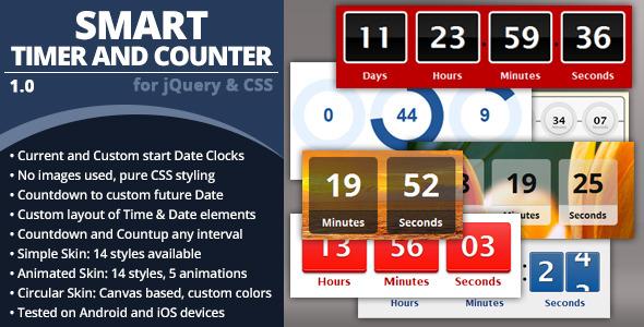 CodeCanyon Smart Timer And Counter 6059548