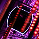 Ferris Wheel at Night Through Hanging Lights - VideoHive Item for Sale