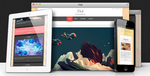 ThemeForest Filok WP Theme Responsive & Retina Ready 6046777