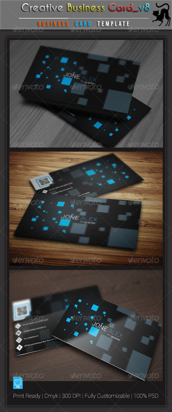 GraphicRiver Creative Business Card v8 6061260
