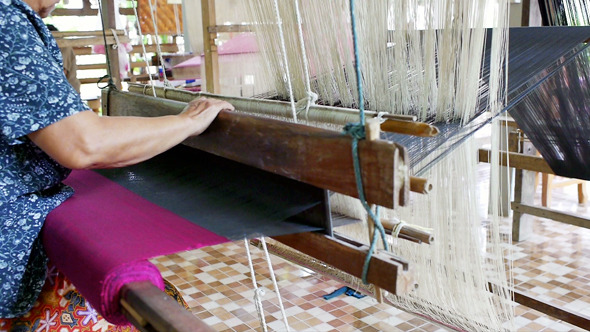 Traditional Cotton Weaving