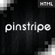 Pinstripe – Premium Resume / CV Template  Free Download