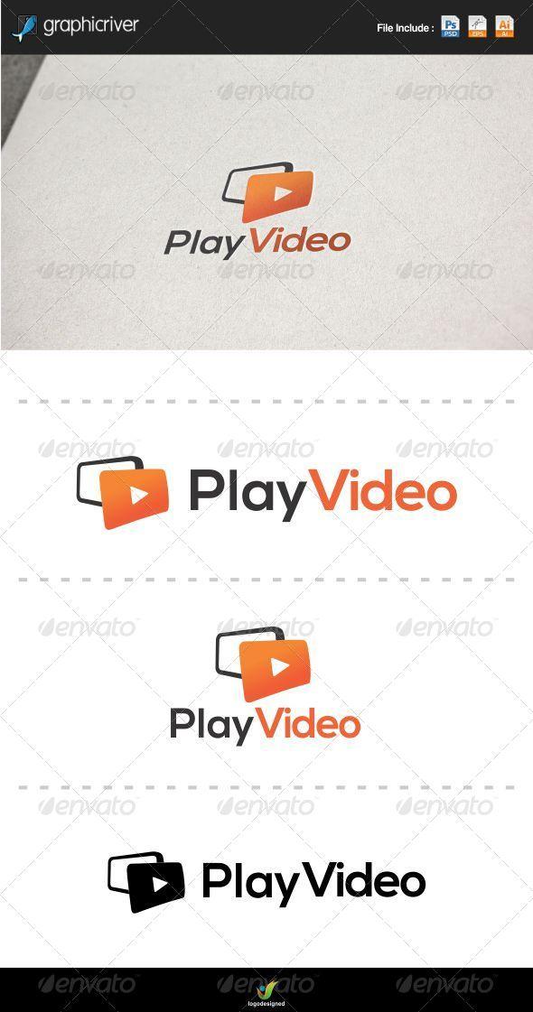 GraphicRiver Play Video Logo 6062268