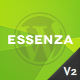 Essenza - Responsive Grid Portfolio Theme - ThemeForest Item for Sale