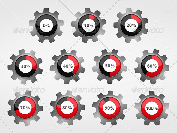 GraphicRiver Progress Indicators 6062950