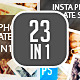 Insta Photo Templates Pack (23in1) - GraphicRiver Item for Sale