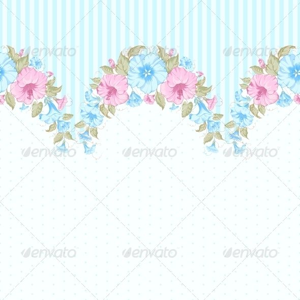 GraphicRiver Pink Flower Seamless Pattern 6063571