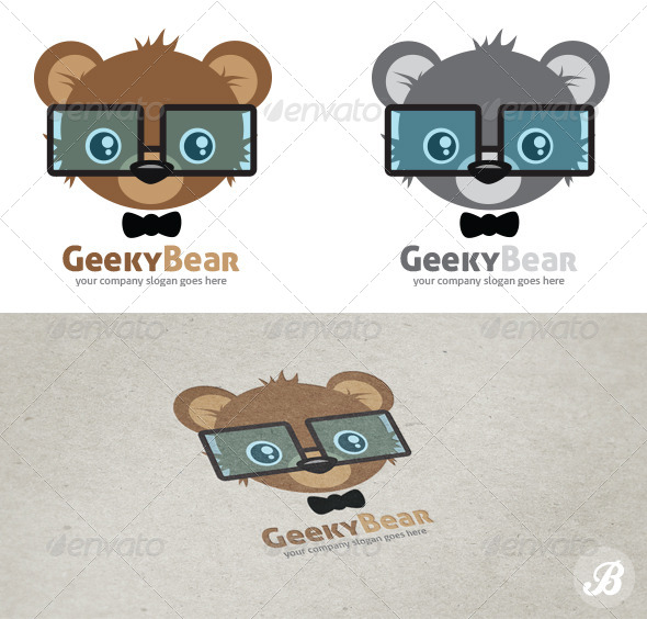 GraphicRiver Geeky Bear 6063856