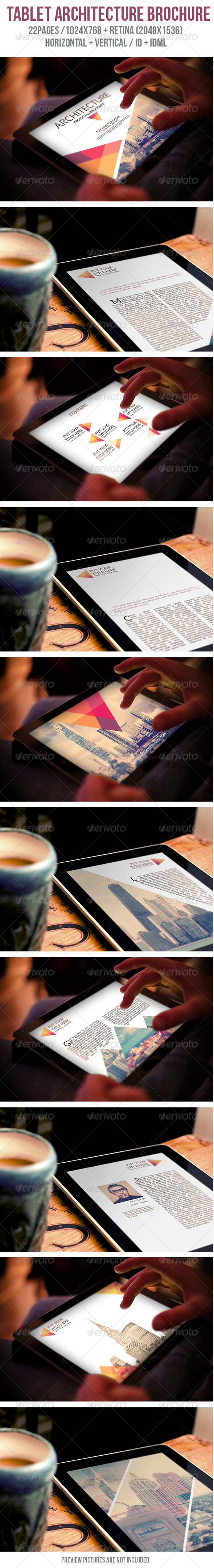 GraphicRiver Tablet Architecture Porfolio Brochure 6063907