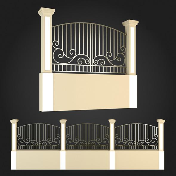 3DOcean Fence 002 6063960