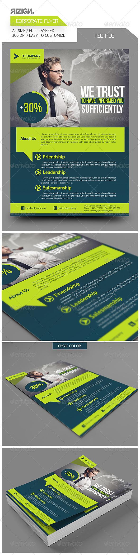GraphicRiver Corporate Flyer 6064005