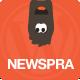 NewSpra - Ajax Portfolio Wordpress Theme