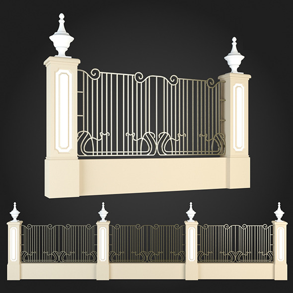3DOcean Fence 004 6064019