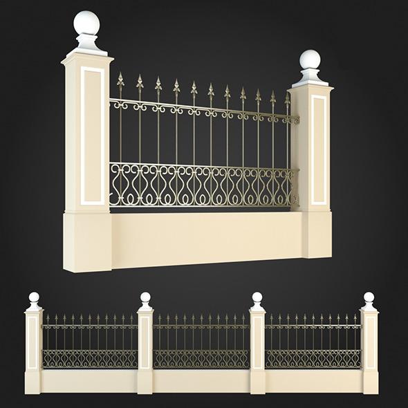 3DOcean Fence 005 6064025