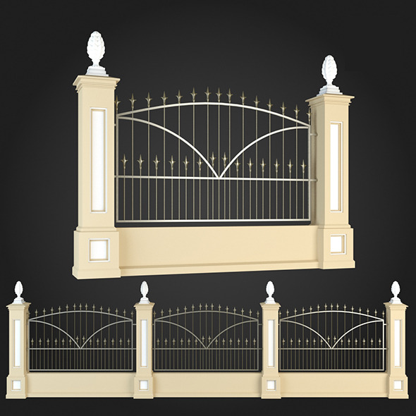 3DOcean Fence 009 6064106